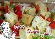 Salata cu branza tofu