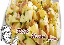 Salata nemteasca cu cartofi