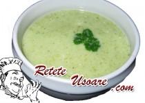 Supa de conopida si brocoli crema