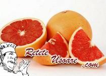 Deliciu cu grepfrut si lamaie