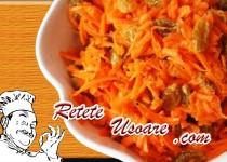 Salata Tangy din morcovi si ridichi