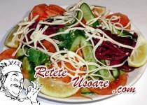 Salata de pui cu grepfrut roz si mar