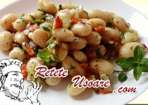 Salata usoara de fasole boabe