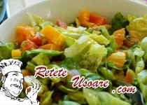 Salata de avocado cu somon