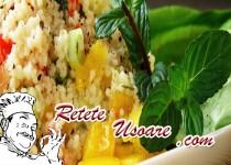 Salata de cuscus cu seminte de pin