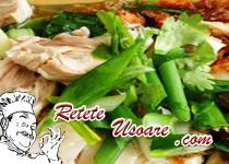 Salata de fasole verde cu pui