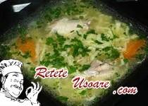 Supa de Pasare cu Taitei de Casa