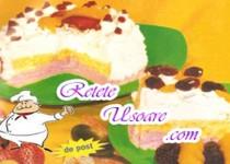 Tort De Inghetata Cu Caise
